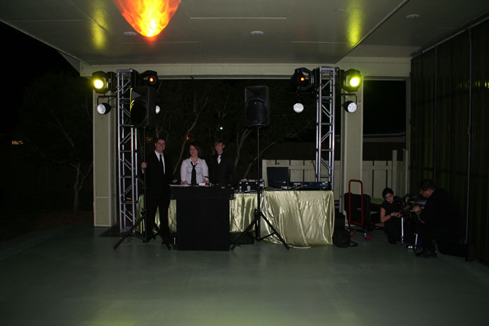 DJ at the wedding - Image © Harley Bessire 2007