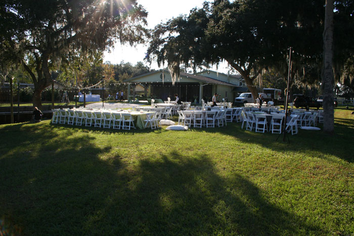 Plenty of room for all wedding guests - Image © Harley Bessire 2007