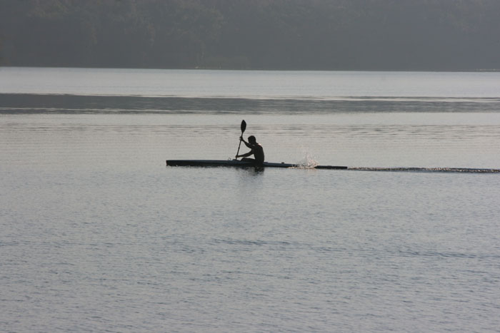 Morning workout on Lake Beresford - Image © Beth Hoover 2007