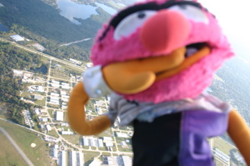Muppets in flight - Image © Edson Pacheco 2008